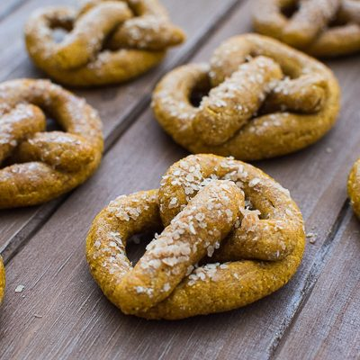 Pumpkin Spice Pretzels + Dog Beer