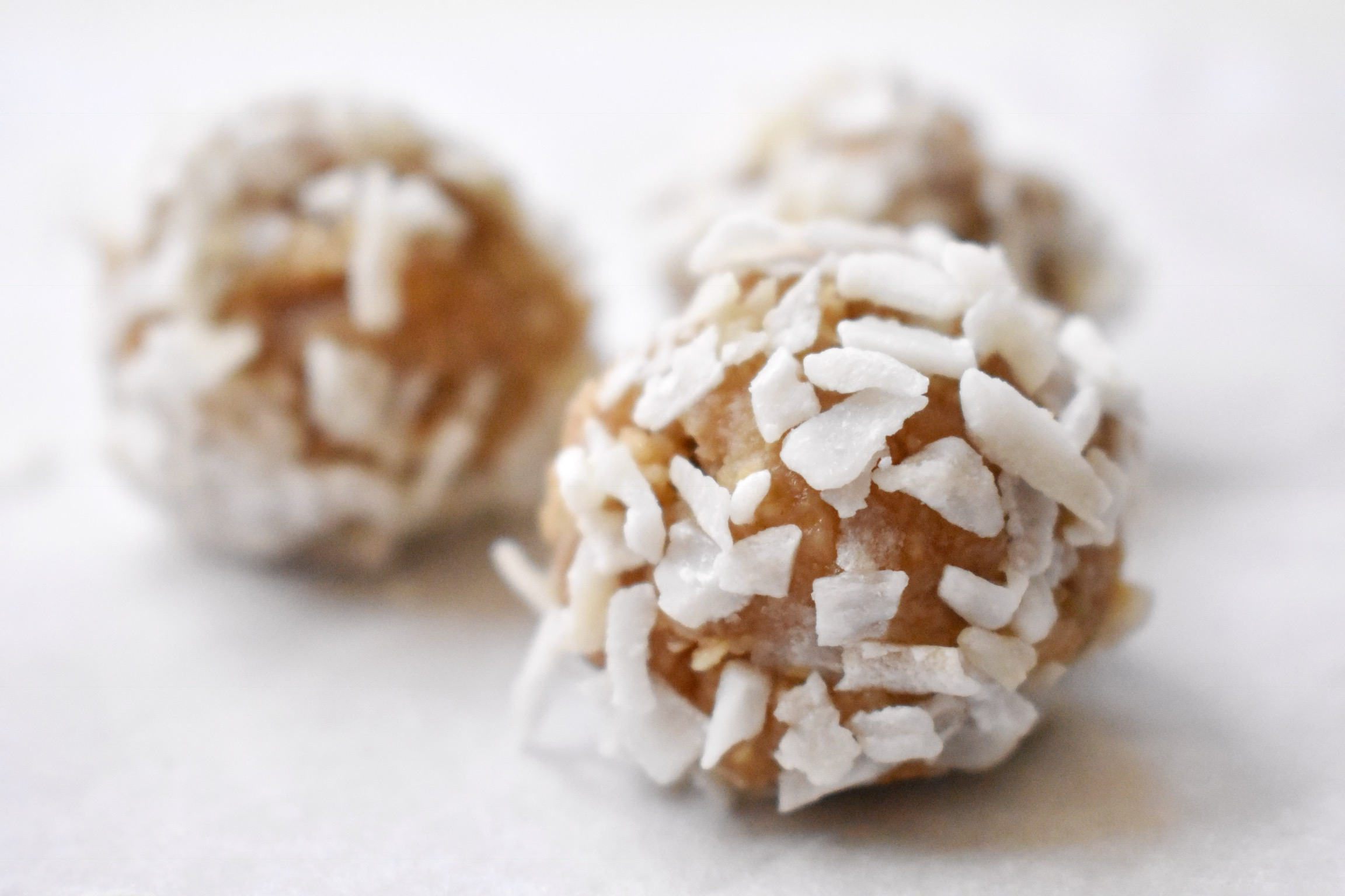 coconut snowball easy dog treat recipe