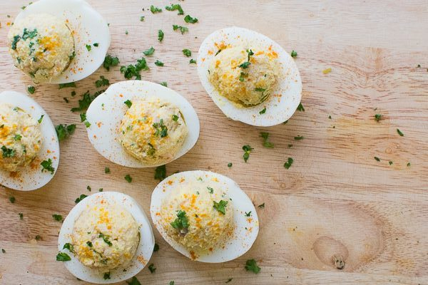 Dog-Friendly Deviled Eggs for Easter